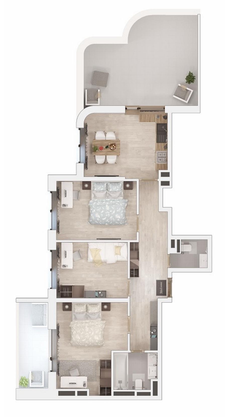 Квартира или дом в Одессе 18-1S_kv._6(3d)